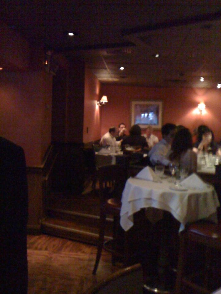 Bono -U2 dinning at Carmine's